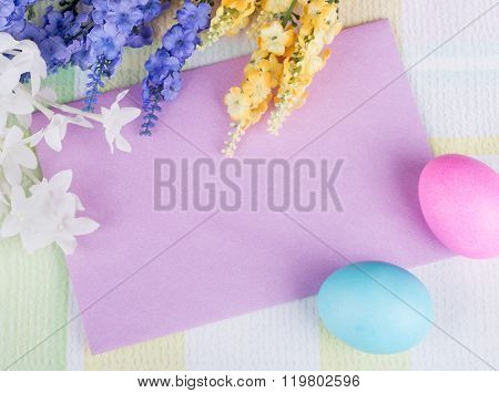 Blank Envelope Easter Decoration