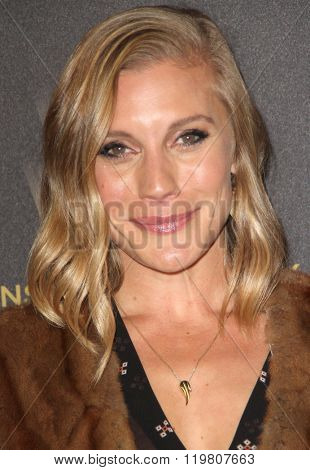 Katee Sachkoff arrives at the Weinstein Company and Netflix 2016 Golden Globes After Party on Sunday, January 10, 2016 at the Beverly Hilton Hotel in Beverly Hills, CA.