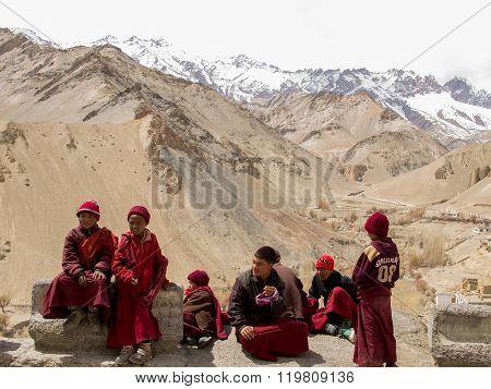 Little Ladakhi Monks
