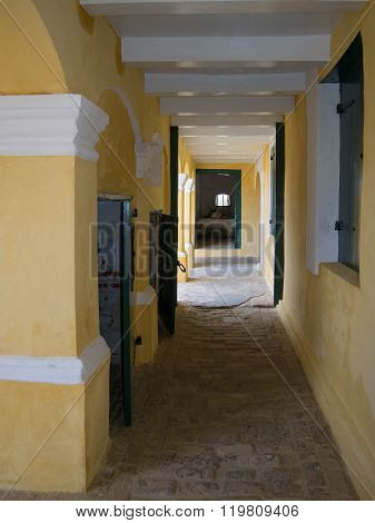 Ft. Christiansted Hallway
