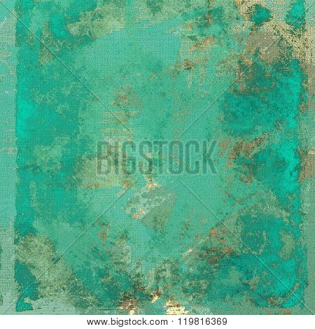 Beautiful antique vintage background. With different color patterns: yellow (beige); brown; green; blue; cyan
