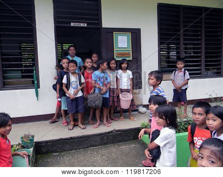 Mabini Elementary School Fourth Grade Pupils