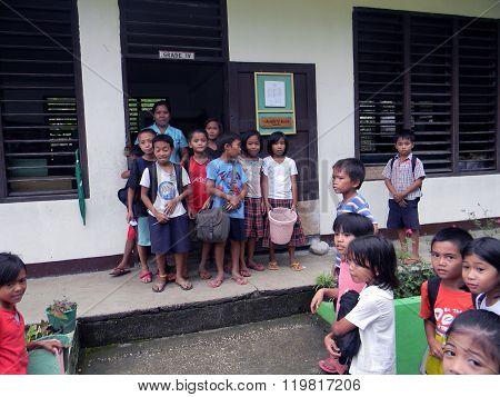 Mabini Elementary School Fourth Grade Pupils