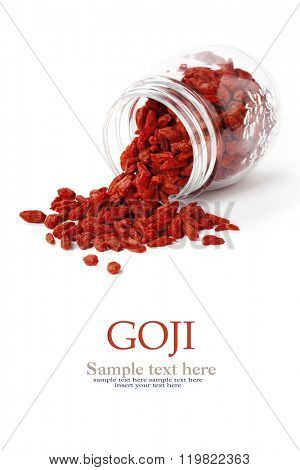 Goji berries,healthy superfood,diet concept