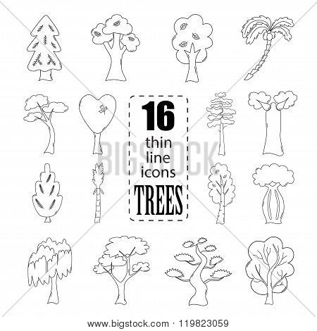 Isolated Trees Set