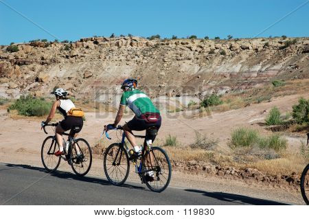 Two Touring Cyclists