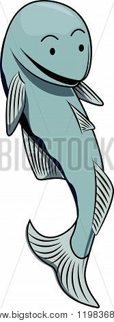 Anchovy cartoon illustration