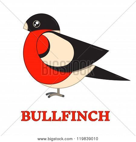 Bullfinch Colorful Geometric Icon
