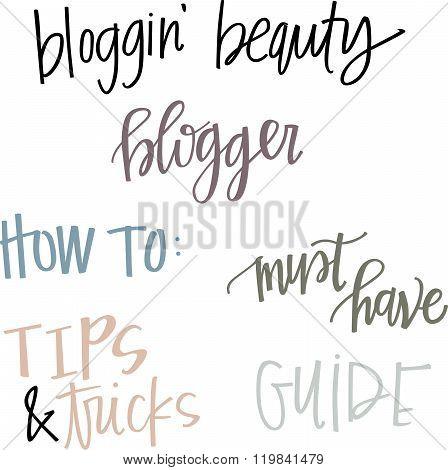 Beauty Blog Headlines