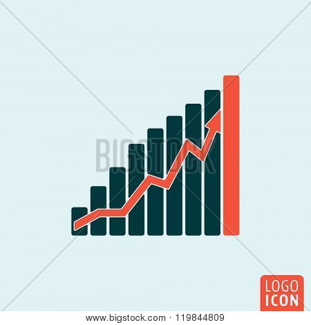 Graphic Icon Isolated