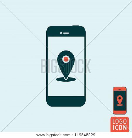 Smartphone Icon Isolated