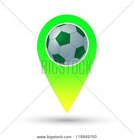 Soccer Ball Marker