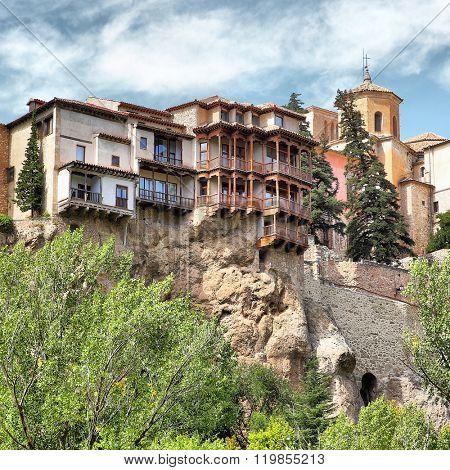 Casas Colgadas - hanging houses in Cuenca, Spain