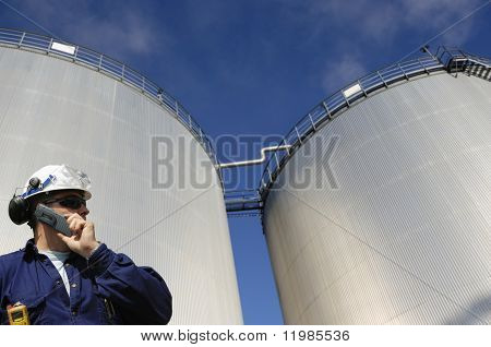 engineer, oil, fuel and industry