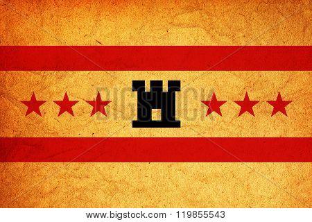 Drenthe Region Flag