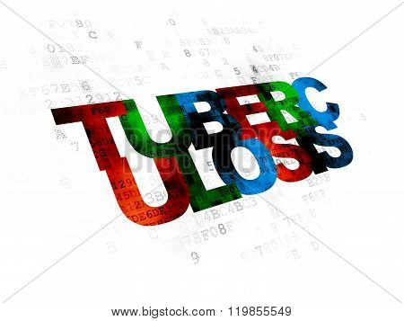 Healthcare concept: Tuberculosis on Digital background