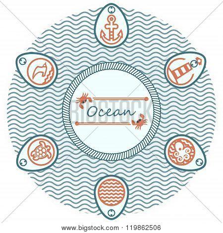 Lettering Ocean