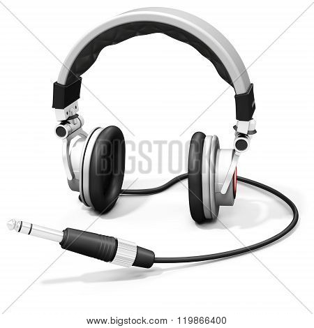 3D Dj Headphones With Audio Jack