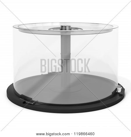 3D Empty Dvd Cd Stack Case,plastic Spindle