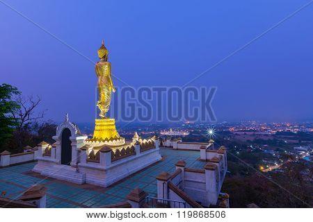 Wat Phra That Kao Noi Temple Nan, Thailand.