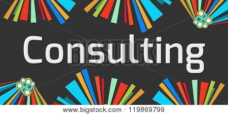 Consulting Dark Colorful Elements
