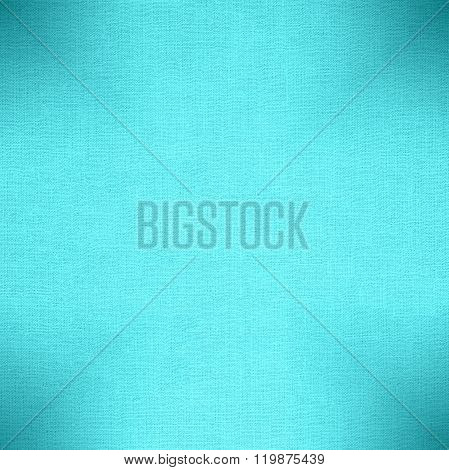 Turquoise Cotton Texture