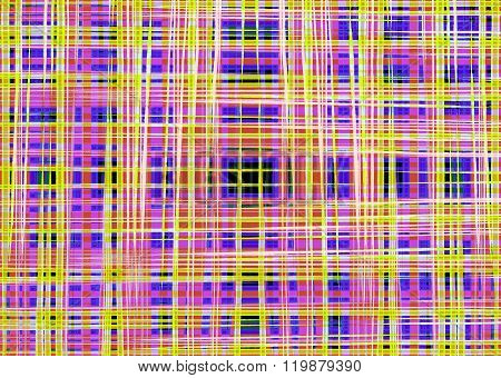 Colourful Crossing Lines Background