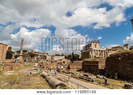 Histrocial Roman Forum