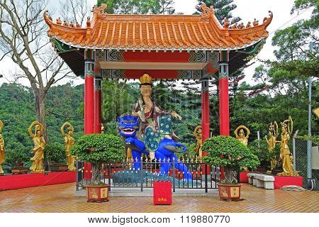 Ten Thousand Buddhas Monastery In Sha Tin, Hong Kong