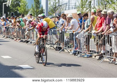 The Cyclist Adam Hansen - Tour De France 2015