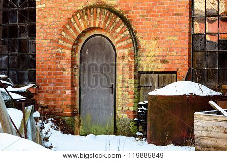 Old Factory Door