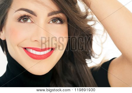 Happy Woman Portrait
