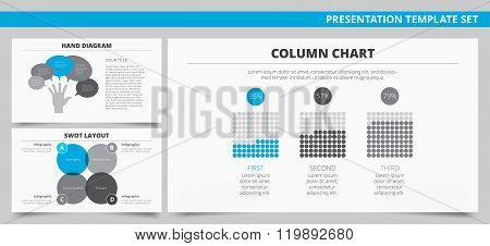 Presentation template set 6