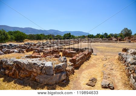 Crete (greece) Conducted Excavations Mali Palace