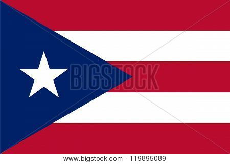 Standard Proportions For Puerto Rico Flag