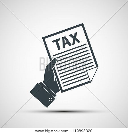 Tax Declaration Vector