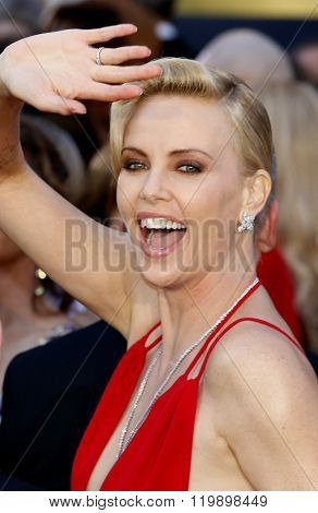 Charlize Theron at the 88th Annual Academy Awards held at the Hollywood & Highland Center in Hollywood, USA on February 28, 2016.