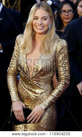 Margot Robbie at the 88th Annual Academy Awards held at the Hollywood & Highland Center in Hollywood, USA on February 28, 2016.