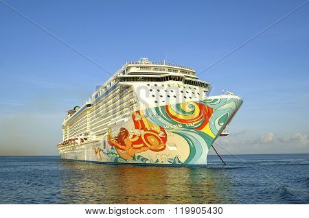Norwegian Cruise Liner, the Getaway