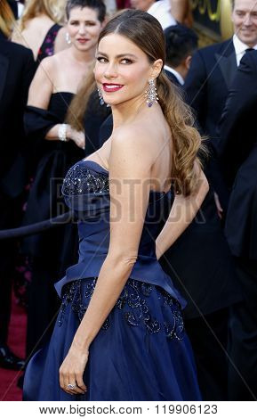 Sofia Vergara at the 88th Annual Academy Awards held at the Hollywood & Highland Center in Hollywood, USA on February 28, 2016.