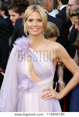 Heidi Klum at the 88th Annual Academy Awards held at the Hollywood & Highland Center in Hollywood, USA on February 28, 2016.