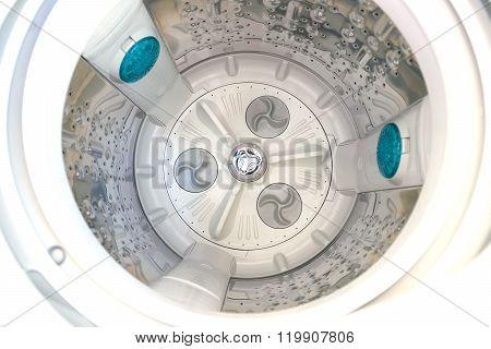 Inside The Washing Machine.?