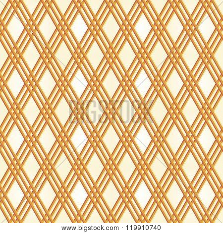 Seamless Pattern Of Elegant Diagonal Lattice