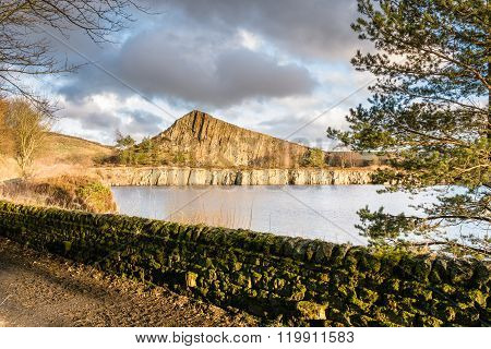 Cawfield Quarry On Hadrian's Wall