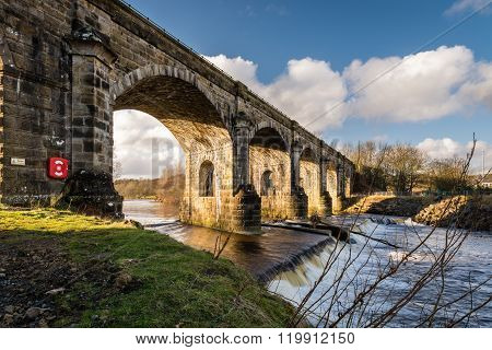 Haltwhistle Skew Arches Viaduct