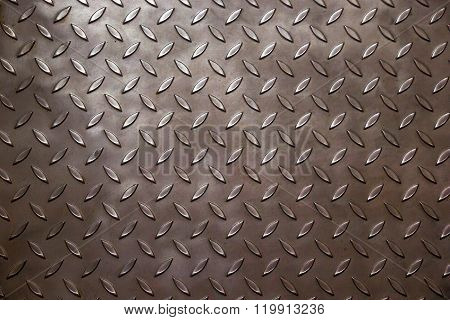 Silver Industrial Metal Background