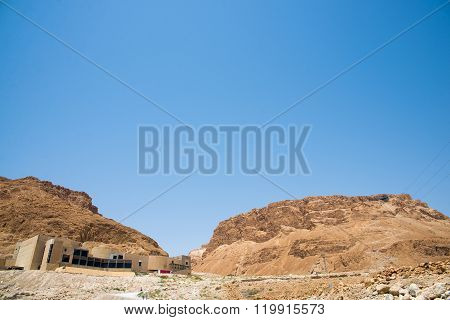 Masada is an ancient fortification