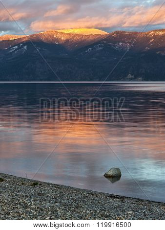 Pend Oreille Lake In North Idaho.