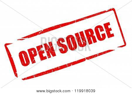 Open source rubber stamp
