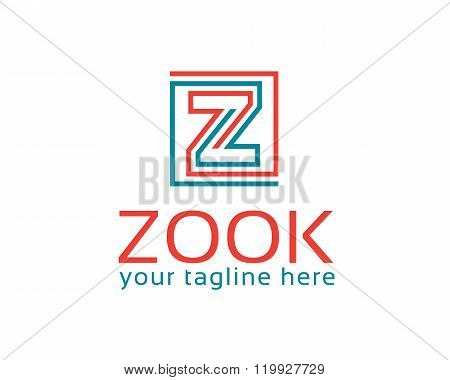 Business Corporate Letter Z Logo Design Template. Simple And Clean Design Of Letter Z Logo Vector. L